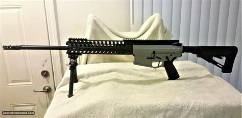 Ar 10 With 20 Inch Barrel And 15 Inch Handguard
