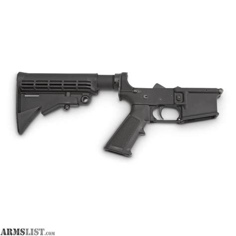 Ar 15 Complete Lower Receiver Sale