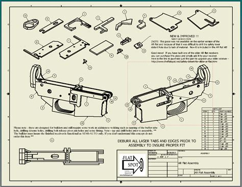 Ar 15 Lower Assembly Drawing
