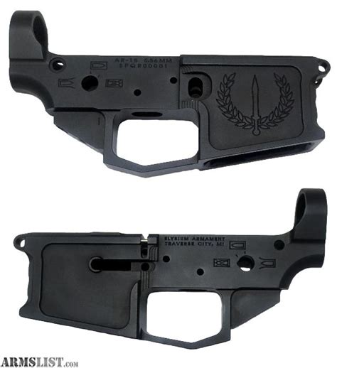 Ar 15 Lower Receiver For Sale In Michigan