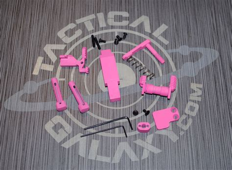 Ar 15 Pink Lower Parts Kit