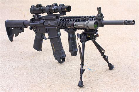 Ar 15 Rifle Shooting Right