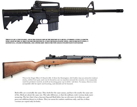 Ar Compared To Hunting Rifle