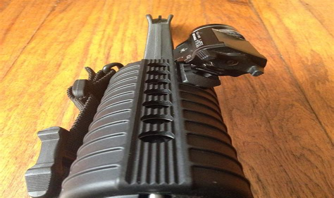Ar Handguard Stepdown And Ar Pistol 105 Upper With 7 Inch Handguard