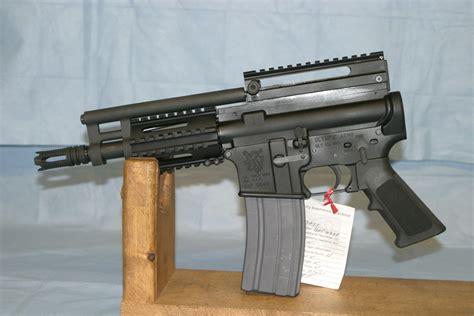 Ar Pistol Upper No Buffer Tube