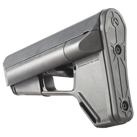 Ar15 Acs Stock Collapsible Commercial Blk Brownells Ch