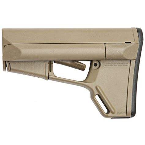 Ar15 Acsl Stock Collapsible Commercial Fde Brownells Se