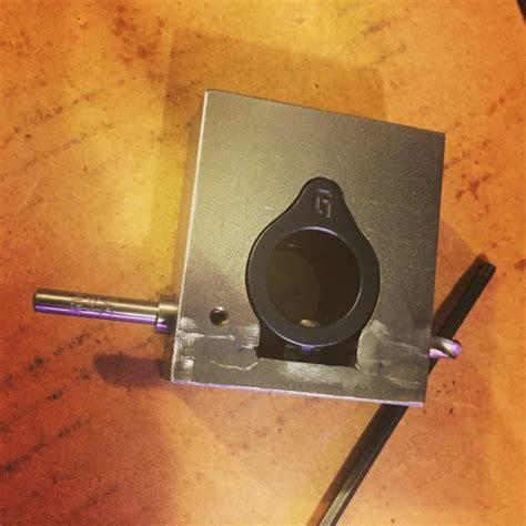 Ar15 Gas Block Jig Brd Engineering Geissele Super Gas Block