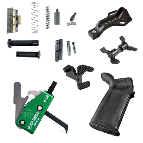 Ar15 Lower Parts Kit Slick Guns And Ar15 Lower Receivers Mold