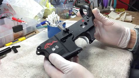 Ar15 Lower Receiver Coating And Ar15 Mil Spec Lower Receiver Fixture