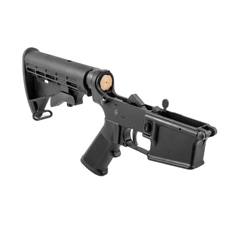 Ar15 Lower Receiver Complete With M4 Stock Assembly Dpms And Bcm Bolt Carrier Group Mpi Auto M16 Bravo Company Usa