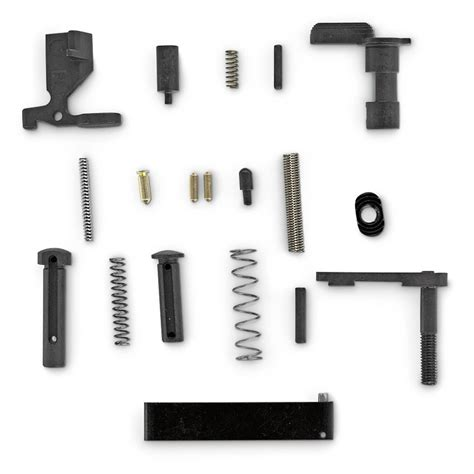 AR15 Lower Receiver Parts Kit Less Trigger Group