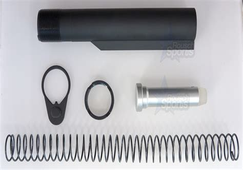 Ar15 M16 Milspec Buffer Tube Assembly Ar15 M16 M4 Stock