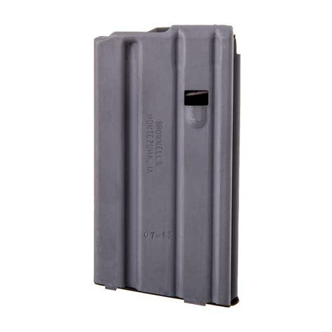 Ar15 Magazine Cs 223 5 56 20rd Aluminum Gray Brownells Ch