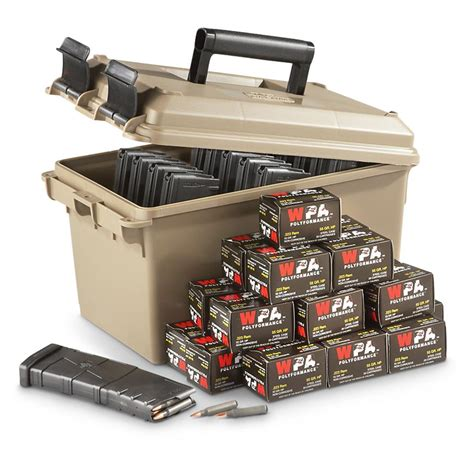 Ar15 Mags In Ammo Can