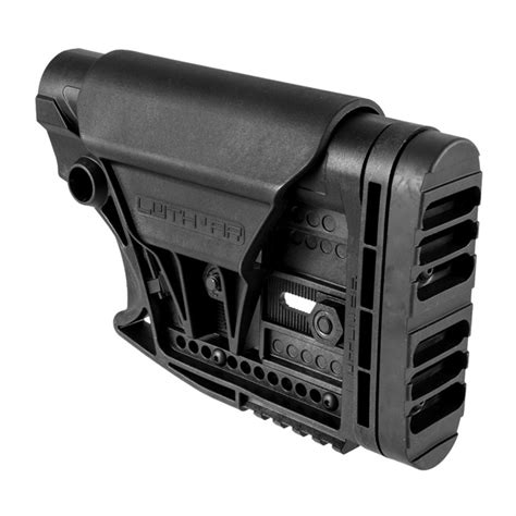 Ar15 Stock Assy Collapsible Commercial Blk Brownells No