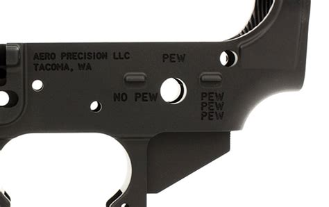 Ar15 Stripped Lower Receiver Special Edition Pew For Sale