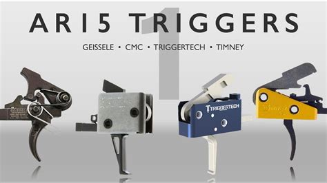 Ar15 Trigger Comparison Geissele Cmc Triggertech Timney