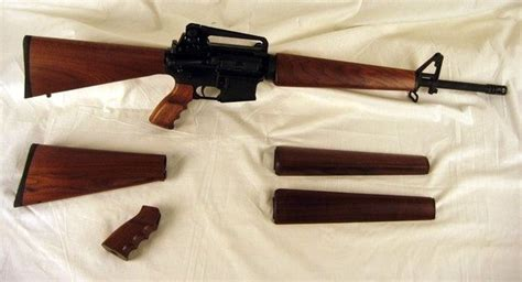 Ar15 Wood Stock Sets Compatibility With Nona2