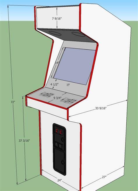 Arcade cabinet plans google sketchup Image