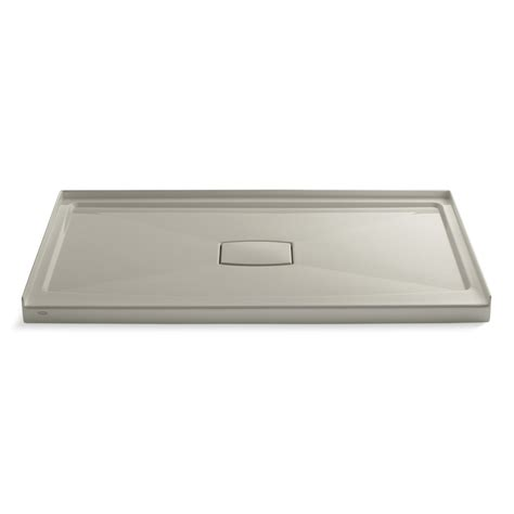 "Archer 60"" x 36"" Single Threshold Center Drain Shower Base with Removable Cover"