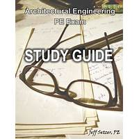 Cheap architectural engineering pe exam study guide