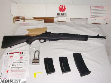 Are New Ruger Mini 14 Barrels Threaded At The Factory