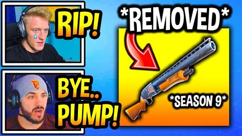 Are Pump Shotguns Still In Fortnite