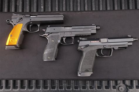 Are Sig P226 Weight Heavier Than Cz