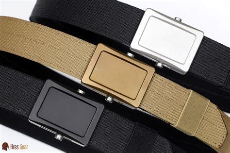 Ares Gear Aegis Enhanced Belt Aegis Enhanced Belt Stainless Buckle Grey Webbing X Large