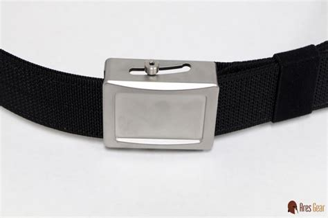 Ares Gear Aegis Enhanced Belt Aegis Enhnaced Belt Stainless Buckle Grey Webbing Xx Large