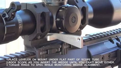 Arisaka Defense Optic Leveler Combo Tool Kit For Rifle