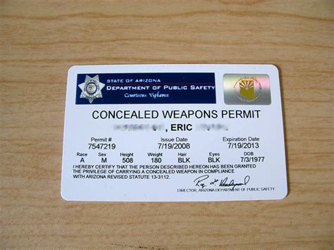 arizona ccw permit