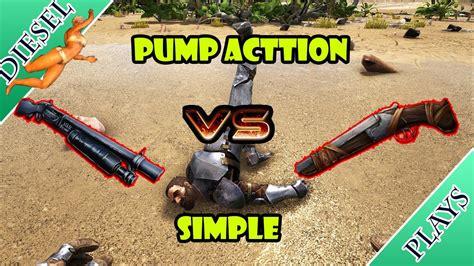 Ark Simple Shotgun Vs Pump Action Shotgun
