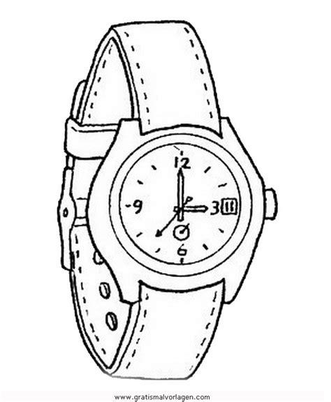 Armbanduhr Malvorlage