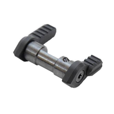 Armaspec Ar15 St45 Short Throw Ambidextrous Safety Selectors St45 Short Throw Ambidextrous Safety Selector Black