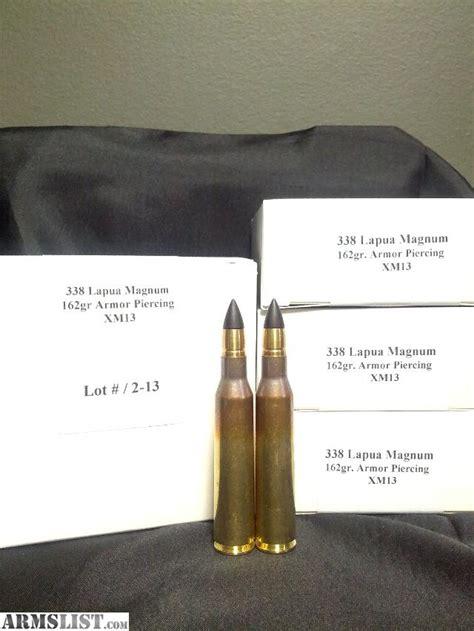 Armor Piercing 338 Lapua