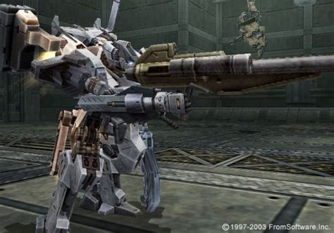 Armored Core Sniper Rifles