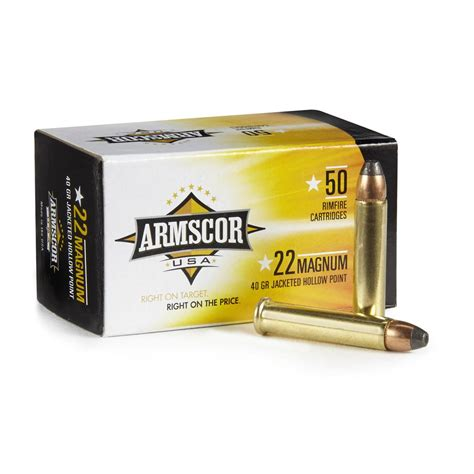 Armscor 22 Mag Ammo