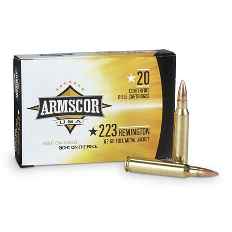 Armscor 223 62 Grain Ammo