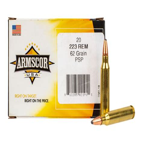 Armscor 223 62 Grain Bonded Ammo Review