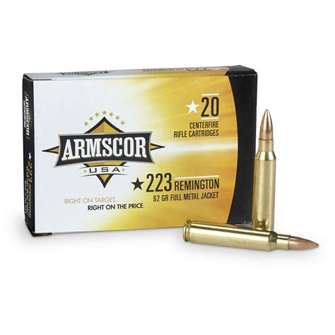 Armscor 223 Ammo