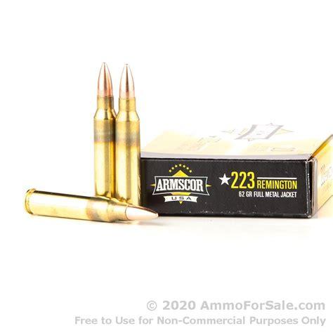 Armscor 62gr 223 Ammo