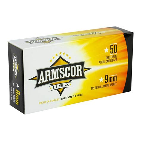 Armscor 9mm Ammo Luger