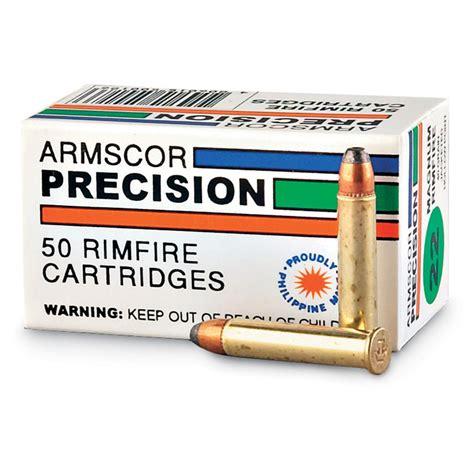 Armscor Precision 22 Magnum 40 Grain JHP ARMS50018PH Ammo