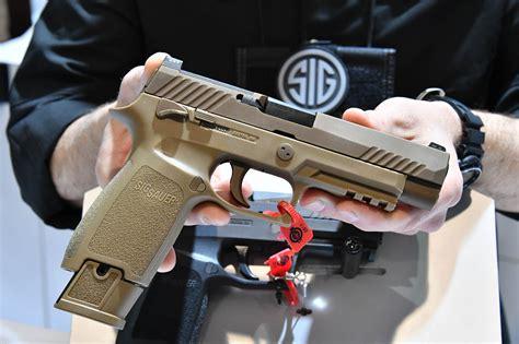 Sig-Sauer Army New Handgun Sig Sauer.