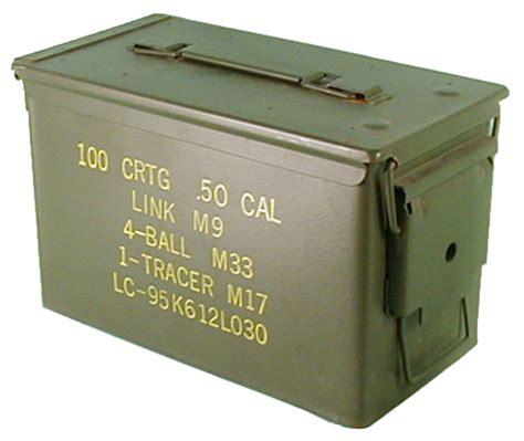 Army Surplus Metal Ammo Boxes