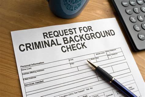 arrest background check