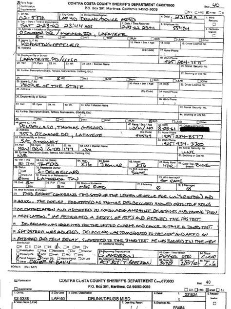 arrest records california michigan