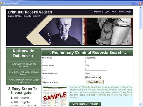 arrest records search columbia